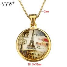 Memorable Eiffel Tower Pendant Necklace For Women