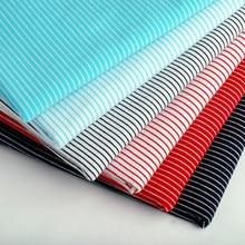 цена на Ultra wide high-grade cotton Pinstripe knitted elastic Lycra Dress Vest T-shirt dress
