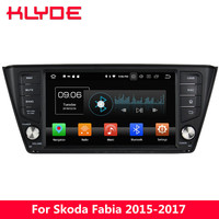 KLYDE 8 4G Android 8.0 Octa Core PX5 4GB RAM 32GB ROM BT Car DVD Multimedia Player Radio Stereo For Skoda Fabia 2015 2016 2017