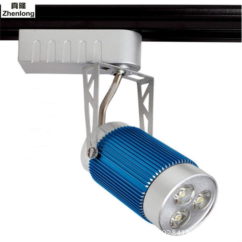 Industrial 3W RGB LED track light led rail lamp leds spotlights iluminacao lighting fixture for shop store spot lighting
