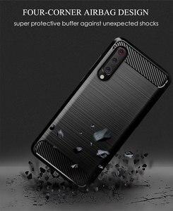 Image 5 - Silicone Carbon Phone case For Xiaomi Mi 9 Se 9T Pro Fiber TPU Back Cover Xiaomimi Mi9 Mi9T Mi9se 9pro Mi9Pro Soft Rugged Armor