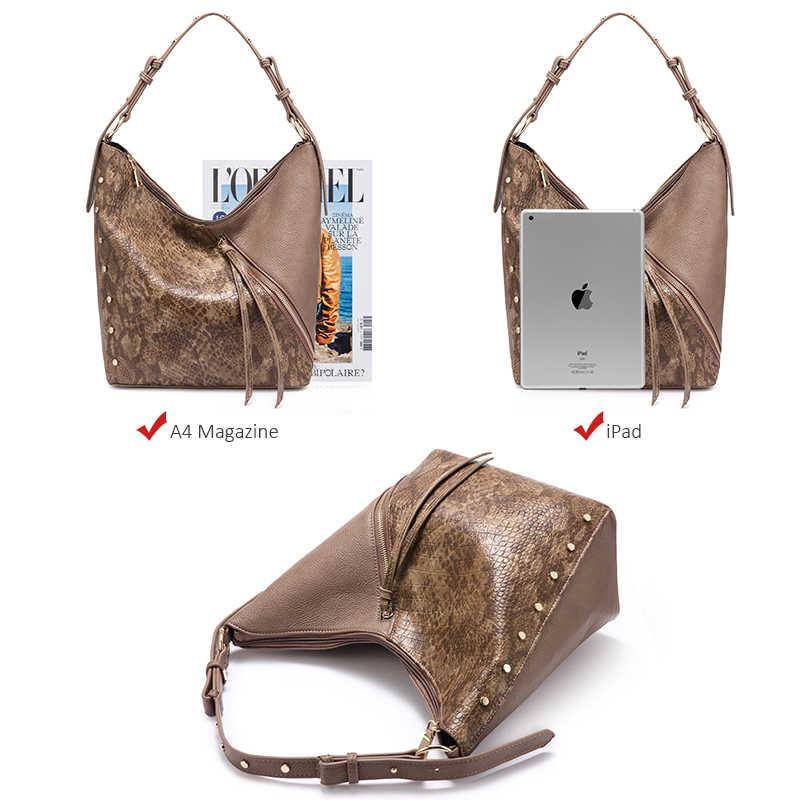 REALER женские сумки из мягкой искусственной кожи сумки на плечо для дамы с короткими ручками модная сумка через плечо высокого качества