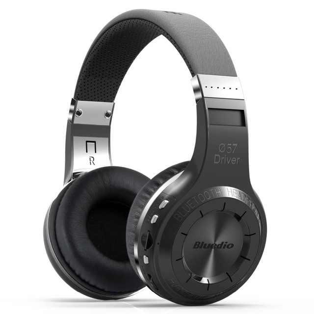 Оригинальный Bluedio H + Bluetooth стерео наушники Bluetooth 5,0 гарнитура Беспроводной супер бас музыкального Mp3 плеер наушники с SD карт и радио