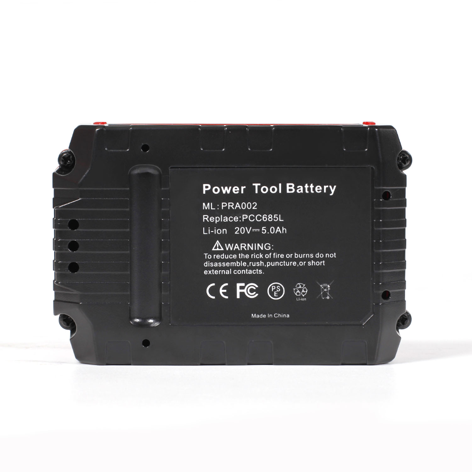 Cncool 20v 5000mAh Rechargeable Battery For Porter Cable PCC685L PCC680L PCC681L PCC600 PCC640 PCC690L PCC601 PCC670 PowerTool