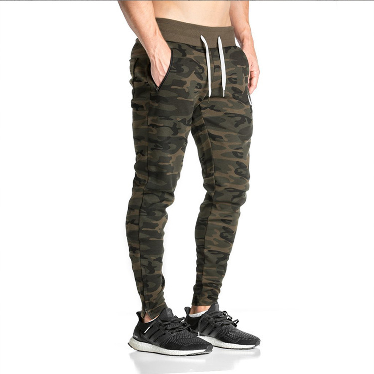 baggy New Arrival Fashion Slim Fit Camouflage Pants Men Harem Sweatpants Cargo Pants