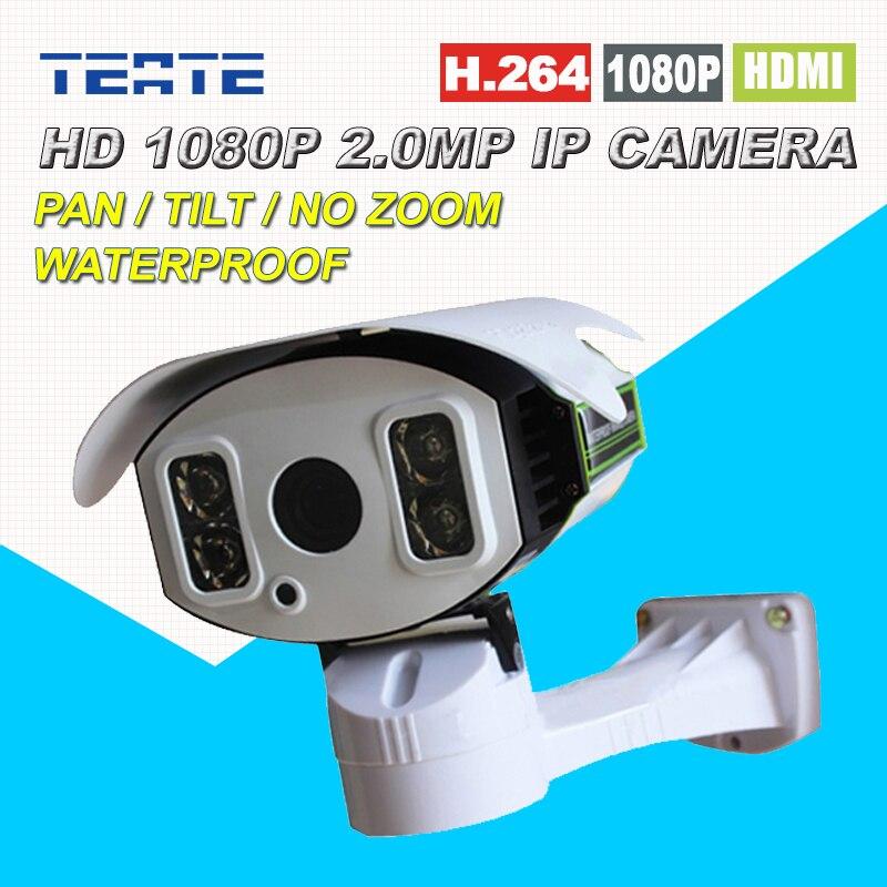 ONVIF IP Camera Outdoor 1080P Pan/Tilt Rotation 2.0MP Full HD with TF Card Slot Array IR Night 100M Home Security Surveillance wanscam wireless ip camera hw0021 3x digital zoom pan tilt pt onvif p2p ir cut night vision security cam with tf card slot