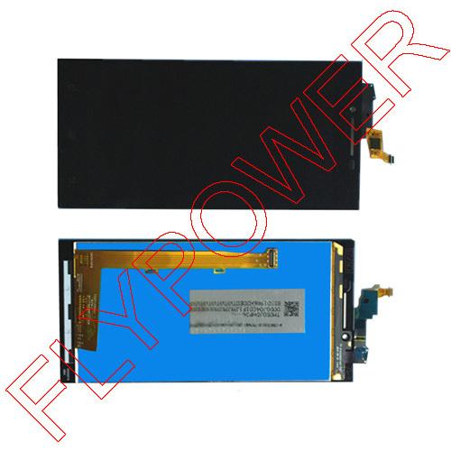 Para lenovo p70 exibição tela de lcd com tela de toque digitador assembléia cor preta frete grátis