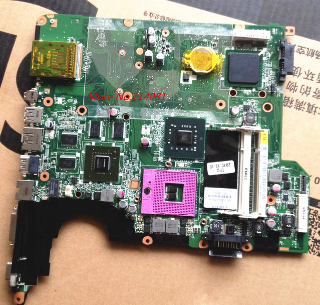 504641-001 Fit For HP laptop motherboard DV5-1000 DV5-1100 DV5 Series PM45 PC board 670795 001 laptop motherboard 5