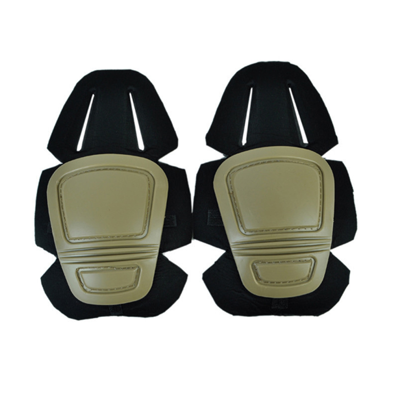 Ourpgone Outdoor Adult's Tactical Protective Knee Pad Support Airsoft Paintball Combat Knee Protector Kneepads + Free shipping! недорго, оригинальная цена