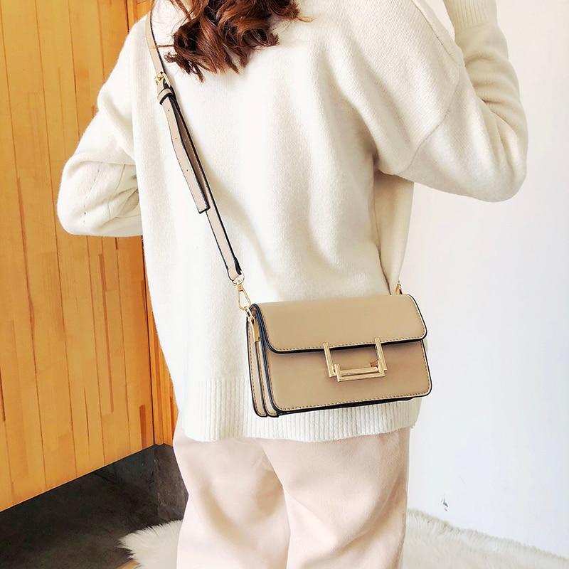 Small Women Bags PU leather Messenger Bag Clutch Bags Designer Mini Shoulder Bag Women Handbag bolso mujer purse sac a main femm 4
