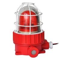 TG BBJ industrial À Prova de Explosão de Som E Luz de Alarme Com Som 90dB DC12V/24 v AC220V Sirene do Alarme De Segurança|Sirene de alarme|Segurança e Proteção -