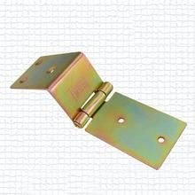 Железа цвет плакировкой пластину плиты общего шарнира железный ящик петля