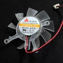Видеокарта fanNew 8600GT 9500GT 9600GT видеокарта вентилятор охлаждения YD127015LS-N 12 В 0.11A диаметр 6.5 см