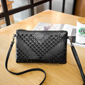 2016 New Pu Women Leather Handbags Brand Women Messenger Bag Ladies Casual Rivet Shoulder Crossbody Bags For Women Small Clutch