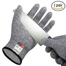 Новые утолщенные анти-резные перчатки рабочие перчатки мужские рабочие перчатки устойчивые Мясник рабочие ударные защитные перчатки Самозащита