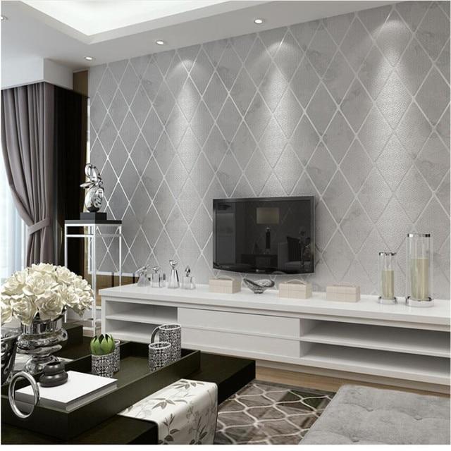modern simple bedroom wallpaper roll 3d stereo living room tv rh aliexpress com