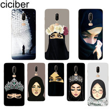 ciciber Muslim Islamic Gril Phone Case For Oneplus 7 Pro 6 5 T Soft TPU Back Cover Clear Coque for 1+7 Pro 1+ 6 1+5 T Fundas