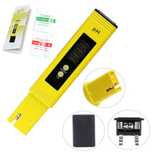 Portable Digital PH Meter Tester for Water Quality Food Aquarium Pool Hydroponics Pocket Size PH Tester LCD Display az8601 portable handel large lcd ph meter az 8601ph