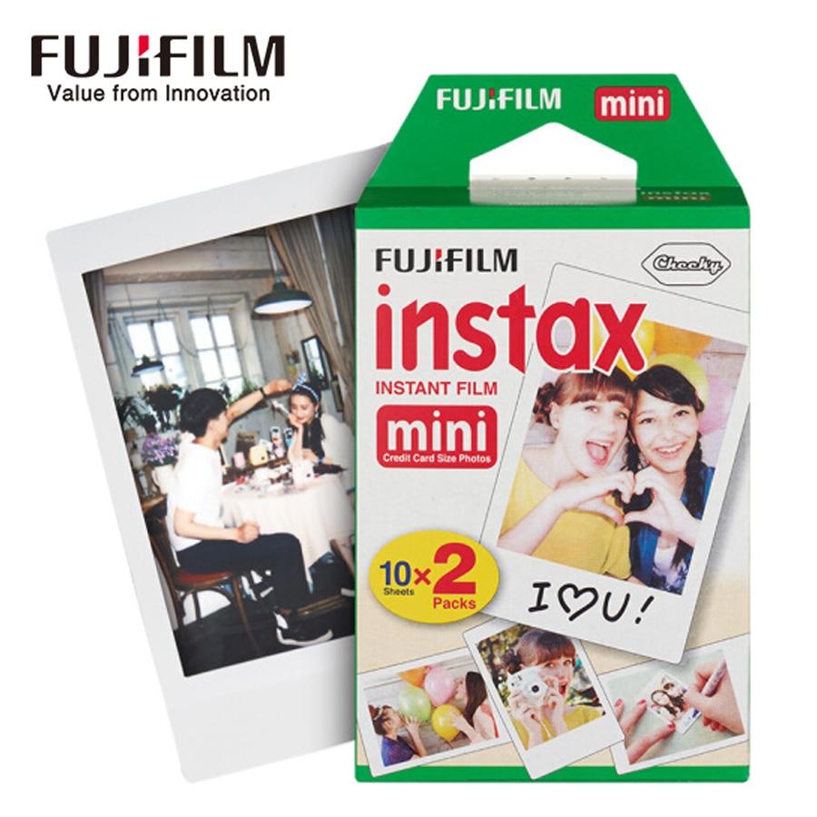 Fujifilm instax mini film 60 80 100 feuilles bord blanc 3 pouces de large film pour appareil Photo instantané mini 8 9 7 s 25 50 s 90 papier Photo + cadeau - 4