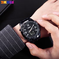 SKMEI Luxury Man's Watch Dual Sport Display Compass Alarm Calorie Calculation Men Clock Quartz Wristwatches relogio masculino