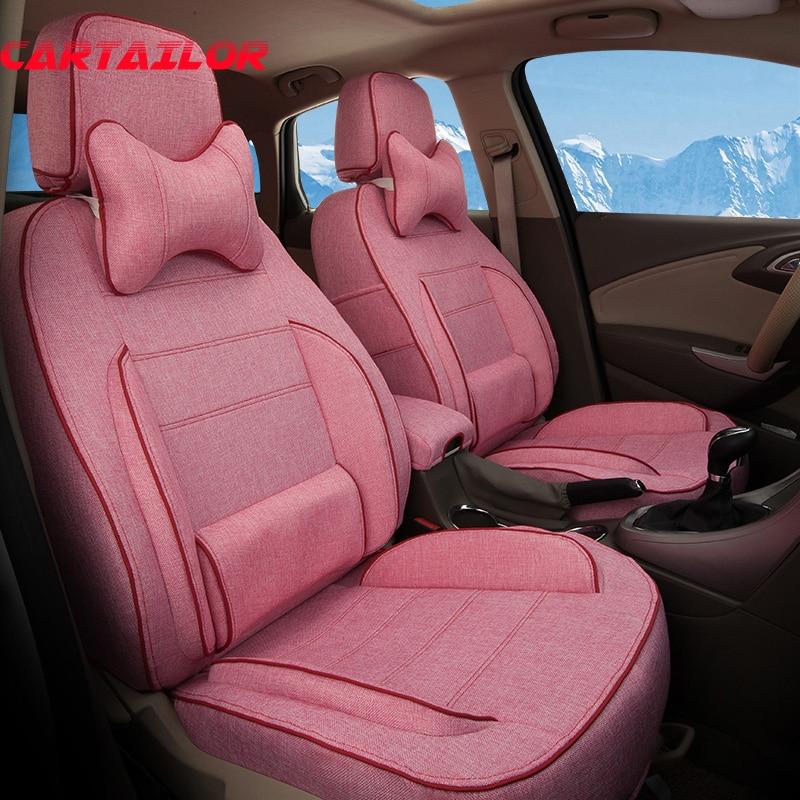 Cartailor Sport Car Seat Covers Custom For Chevrolet Spark