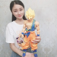 40 44cm Oversized Son Goku Vegeta PVC Action Figures Manga Dimensions Dragon Ball Z Collection Model Doll