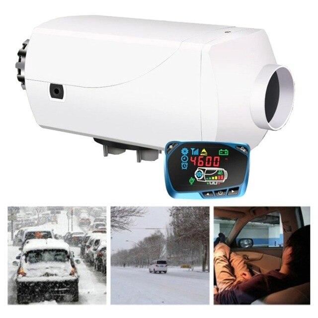 12V 5KW Parking Heater Aluminum Alloy LCD model QN-303 Fuel Heater Car Air Conditioning Truck Diesel Heater Air Heater Hot
