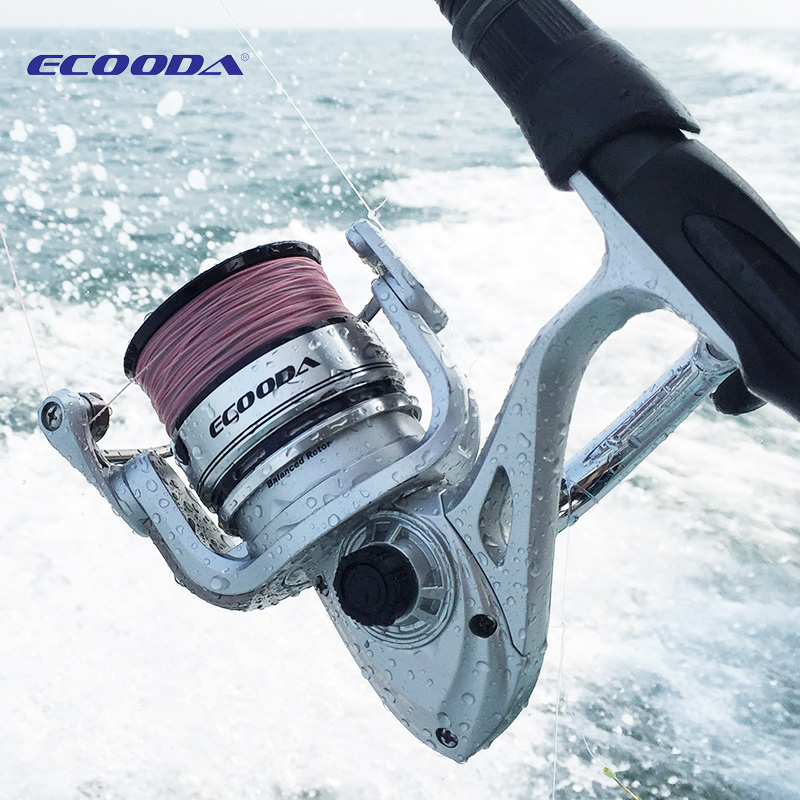 Free shipping!MADMOUSE Ecooda low noise spinning fishing reel ERA2500 ERA3000 ERA3500 ERA4000 ERA4500 ERA5000