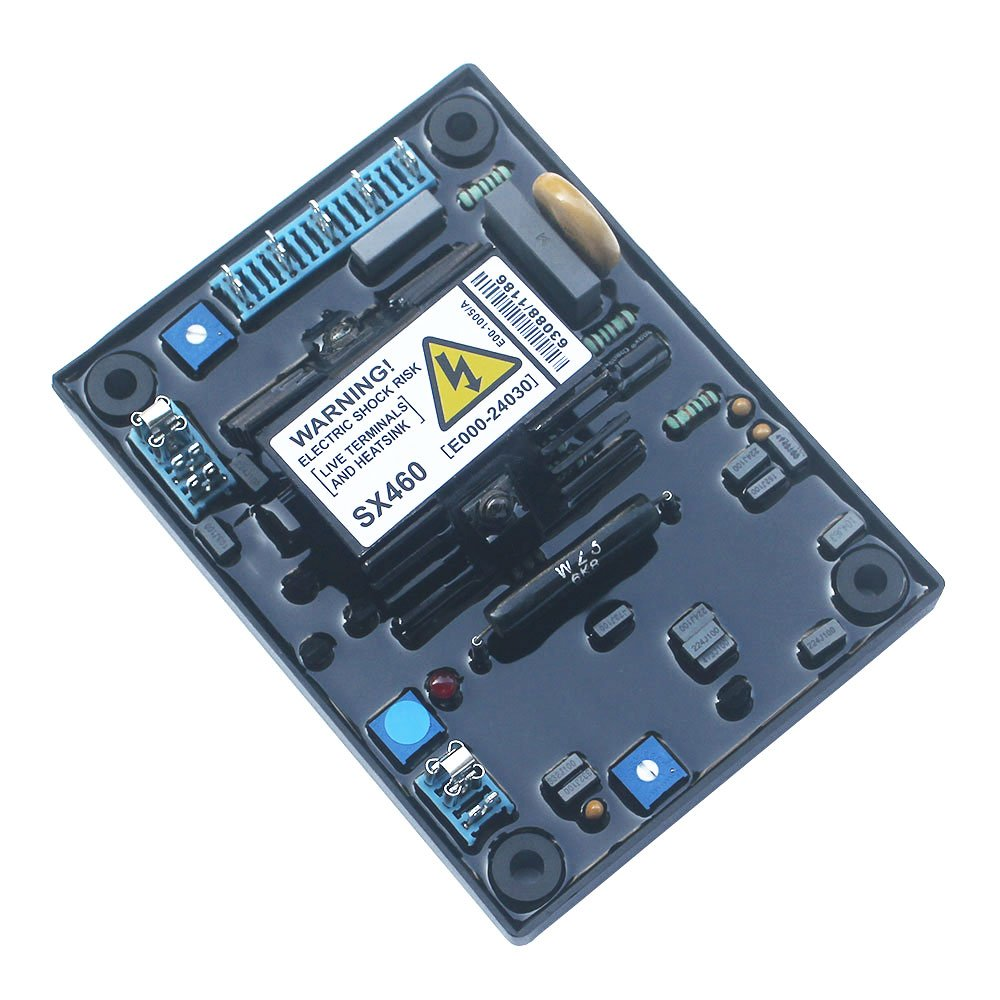 Generator Automatice Voltage Regulator AVR SX460 For Diesel Generator Parts Single Phase AVR