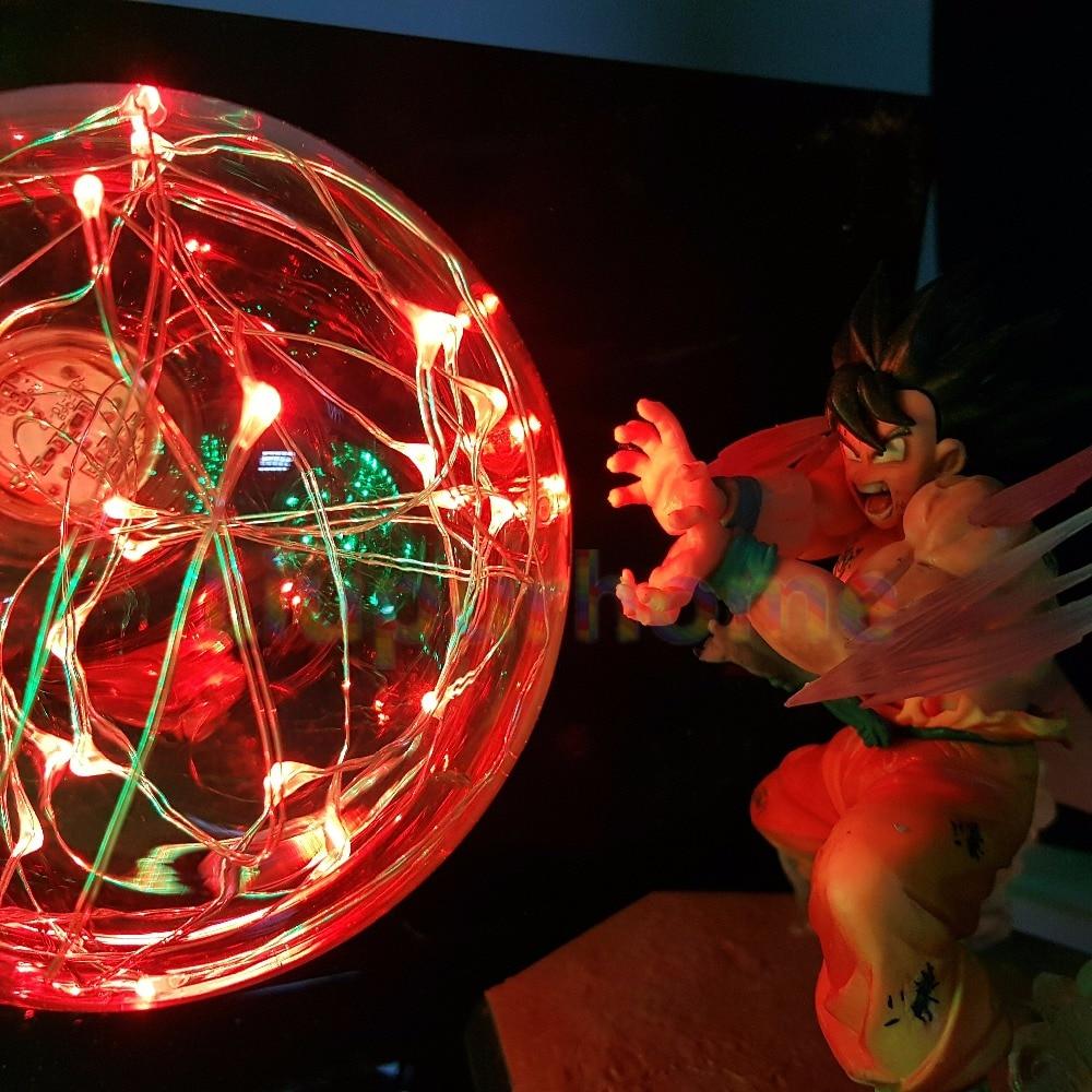 Son Goku VS Broly Led Scene Anime DIY 3D Light Lamp