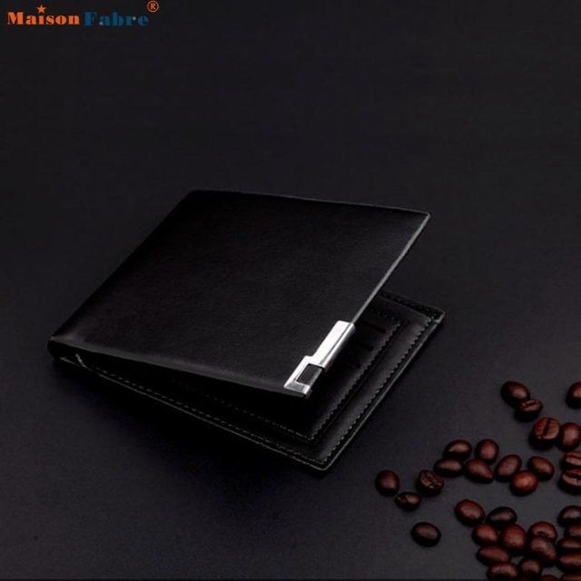 Men Stylish Bifold Business Leather Wallet Card Holder Coin Wallet Purse  Comfystyle