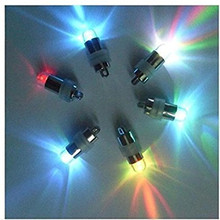 free shipping!!!Operated by Button batteries 100pcs/lot  MINI LED BALLOON LIGHT~Waterproof led mini party lights