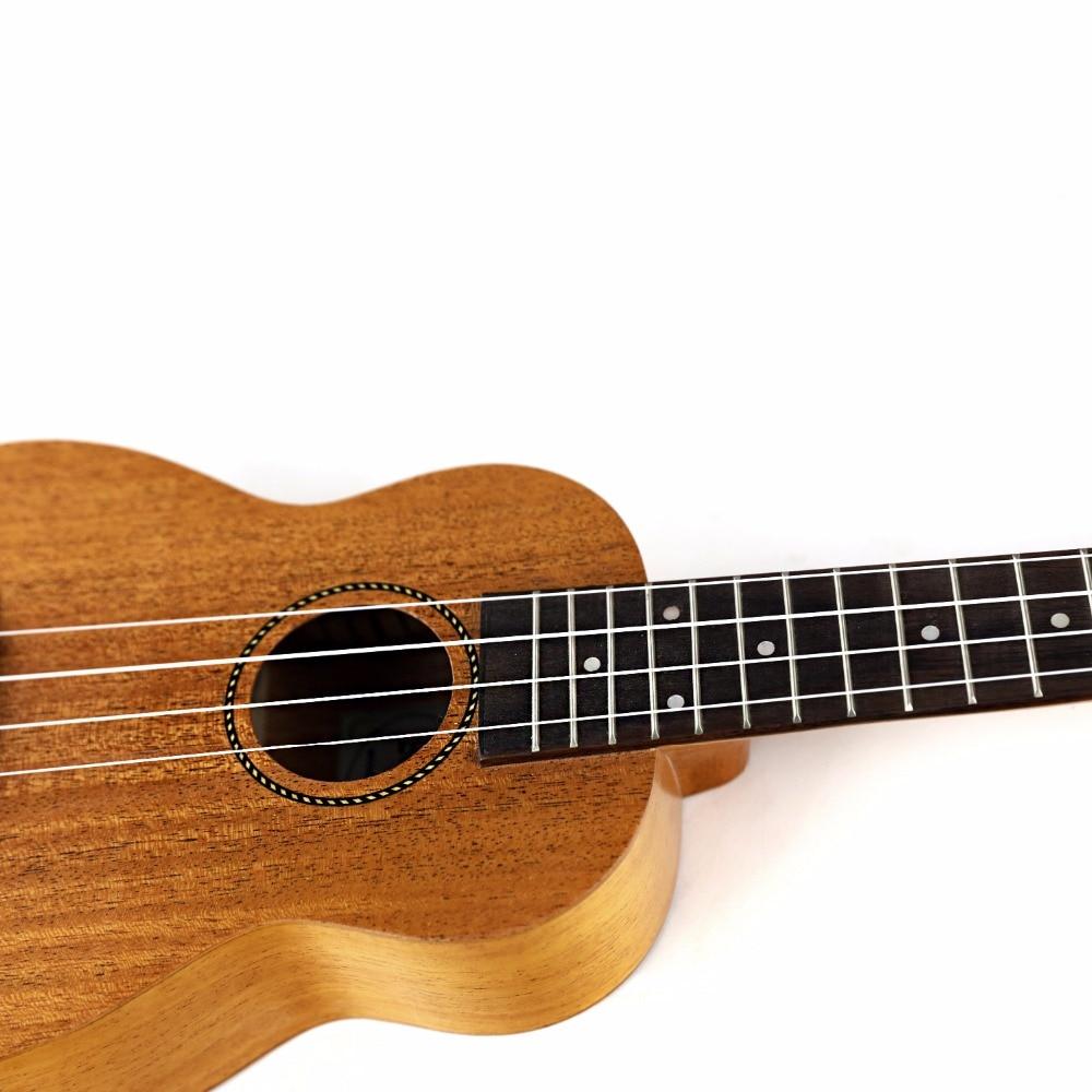 Havaiana + String + Escolha Ukulele Soprano Uke Guitarra para