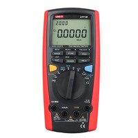 UNI T Цифровой мультиметр UT71B мультиметр Авто Диапазон AC/DC Ток Напряжение USB true RMS REL испытания на устойчивость к ЖК мультиметр блок