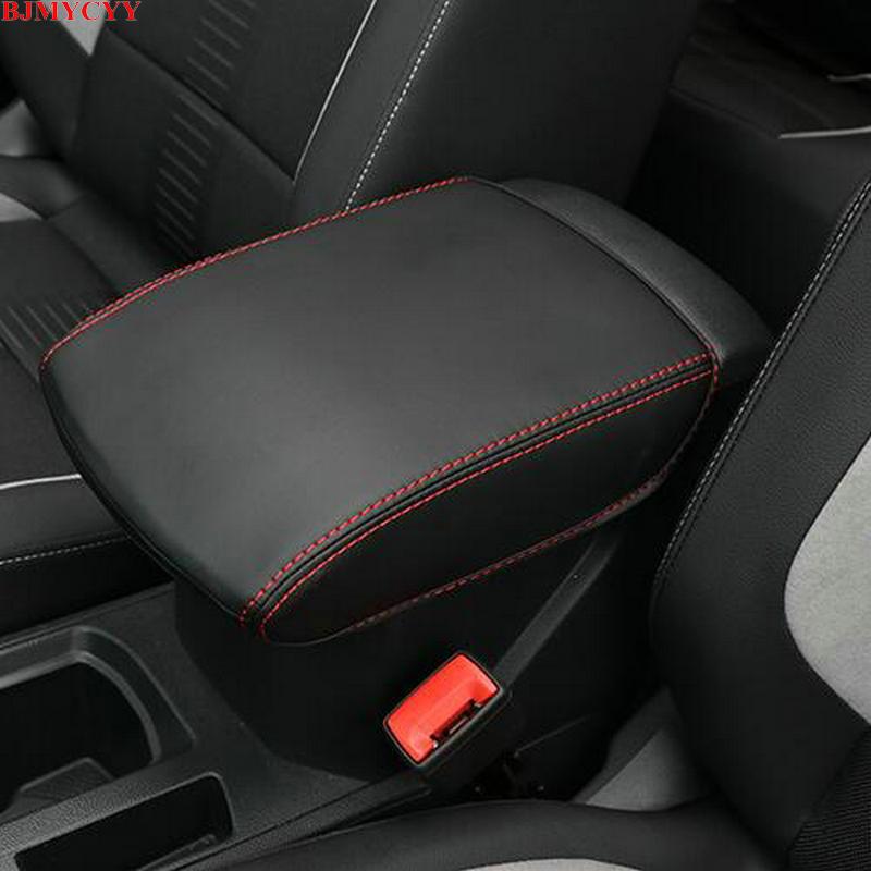 Carro-styling BJMYCYY guarnição Interior para automóvel braço caso decorativos Acessórios Para 2017 2018 Volkswagen Vw T-ROC manga T