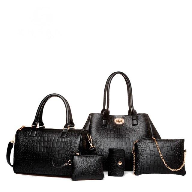 composite Alligator épaule de femmes mode Nouvelles sac 2016 à main RpOaqXW1Wx