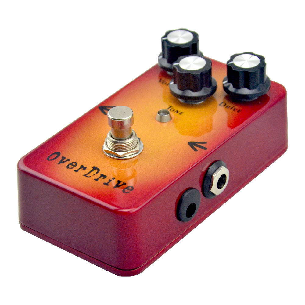 New Overdrive Guitar Effect Pedal True bypass free shipping mooer ensemble queen bass chorus effect pedal mini guitar effects true bypass with free connector and footswitch topper