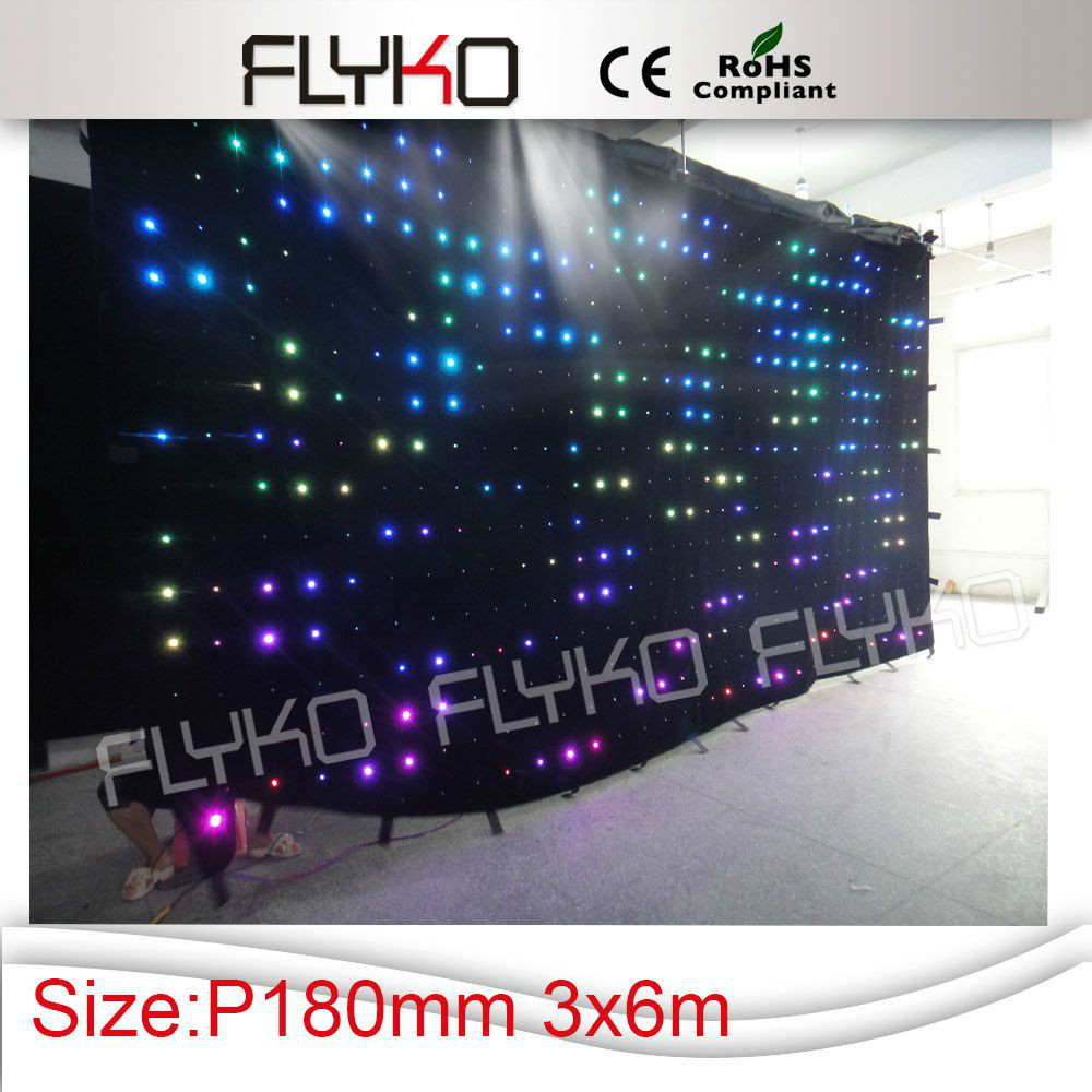 innovative product good quality flexible led curtain display