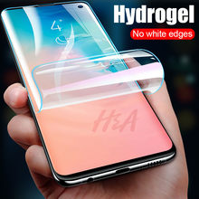 Full Cover Soft Screen Protector For Samsung Galaxy S9 S8 S10 Plus S10E Hydrogel Film For Samsung Note 8 9 S7 S6 Edge Not Glass(China)
