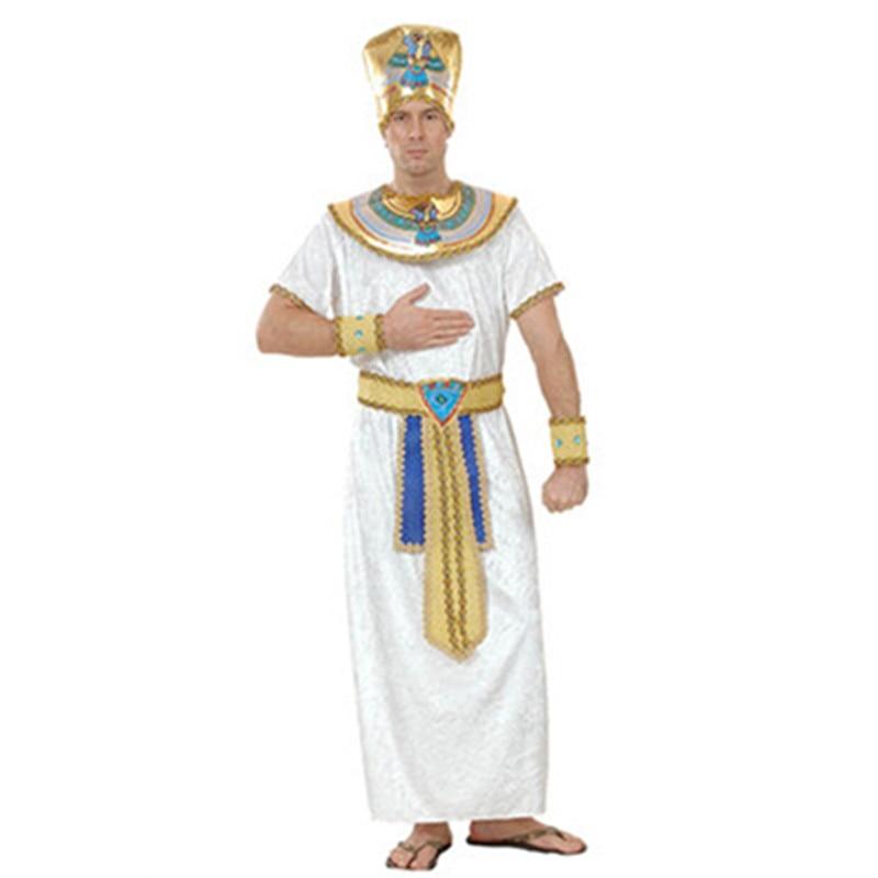 Misir Kraliçası Kostyumları Şahzadə Kral Qızıl Kişilər - Karnaval kostyumlar - Fotoqrafiya 5