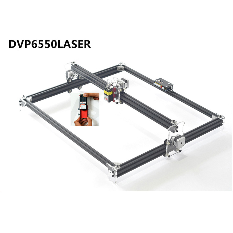 DIY Kit USB Laser Engraver Machine DVP6550 CNC Laser Machine Can add 500MW 2500MW 5500MW Laser