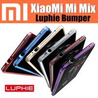 Original Luphie Bumper For Xiaomi Mi Mix Case Ultra Thin Aluminum Metal Frame Armor