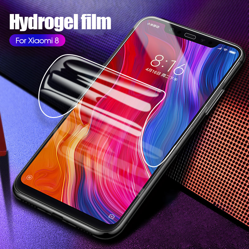 Hydrogel Soft Film For Xiaomi Mi 8 9 Lite Pocophone F1 Mi 6 A2 Play Mix 3 Mi6X Mi6 Mi8 Mi9 SE Mi 9T Pro Screen Protector
