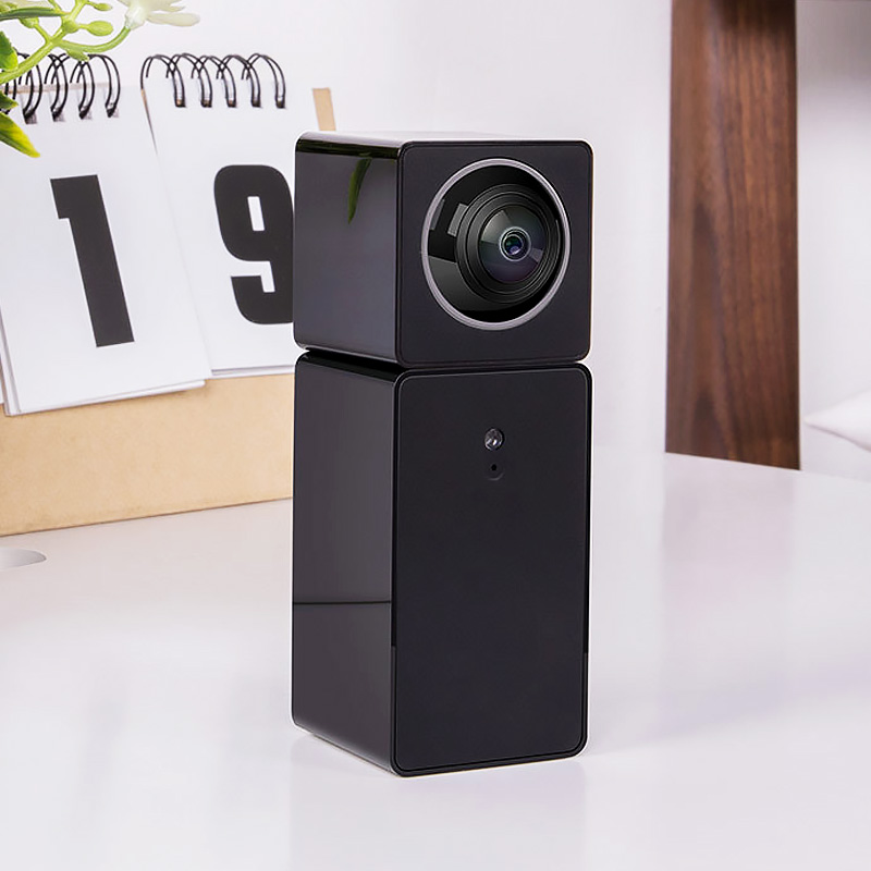 Xiaomi Xiaofang Camera Dual Lens Version Panoramic Smart Network IP Camera Four Screens in One Window Two way Audio Support VR-in 360   Video Camera from Consumer Electronics    1