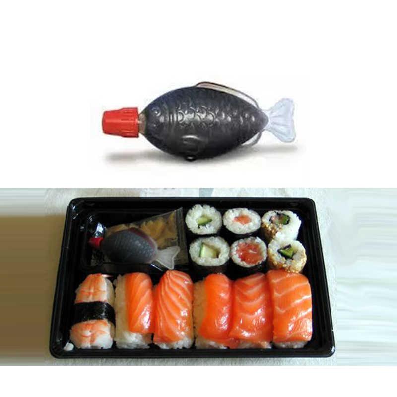 Berbentuk Ikan 4 Ml Kecap Botol Cuka Botol Sekali Pakai Saus Botol Nasi/Sashimi /Sushi HB