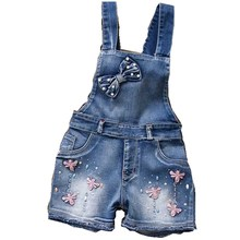 Overalls for girls 2016 year Spring
