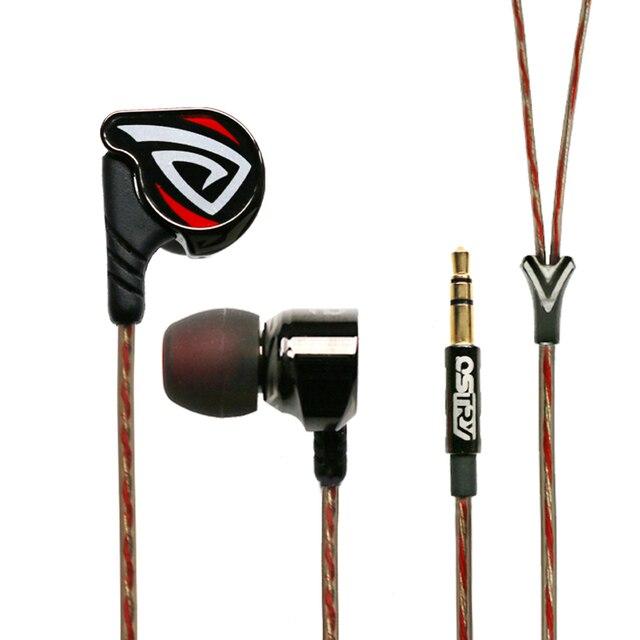 Ostry kc06a kc06 a (+ os100 os200 os300) processo dinâmico de fone de ouvido de alta fidelidade in ear de revestimento a vácuo