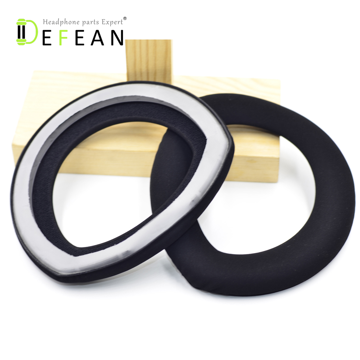 Defean Replacement Ear Pad Foam Cushion For Sennheiser HD800 HD800S H 800 S Headphones-in Earphone Accessories from Consumer Electronics