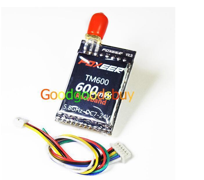 Foxeer 5.8Ghz 40CH TM600 600mW Race Band TM Series FPV Transmitters QAV250 210 X
