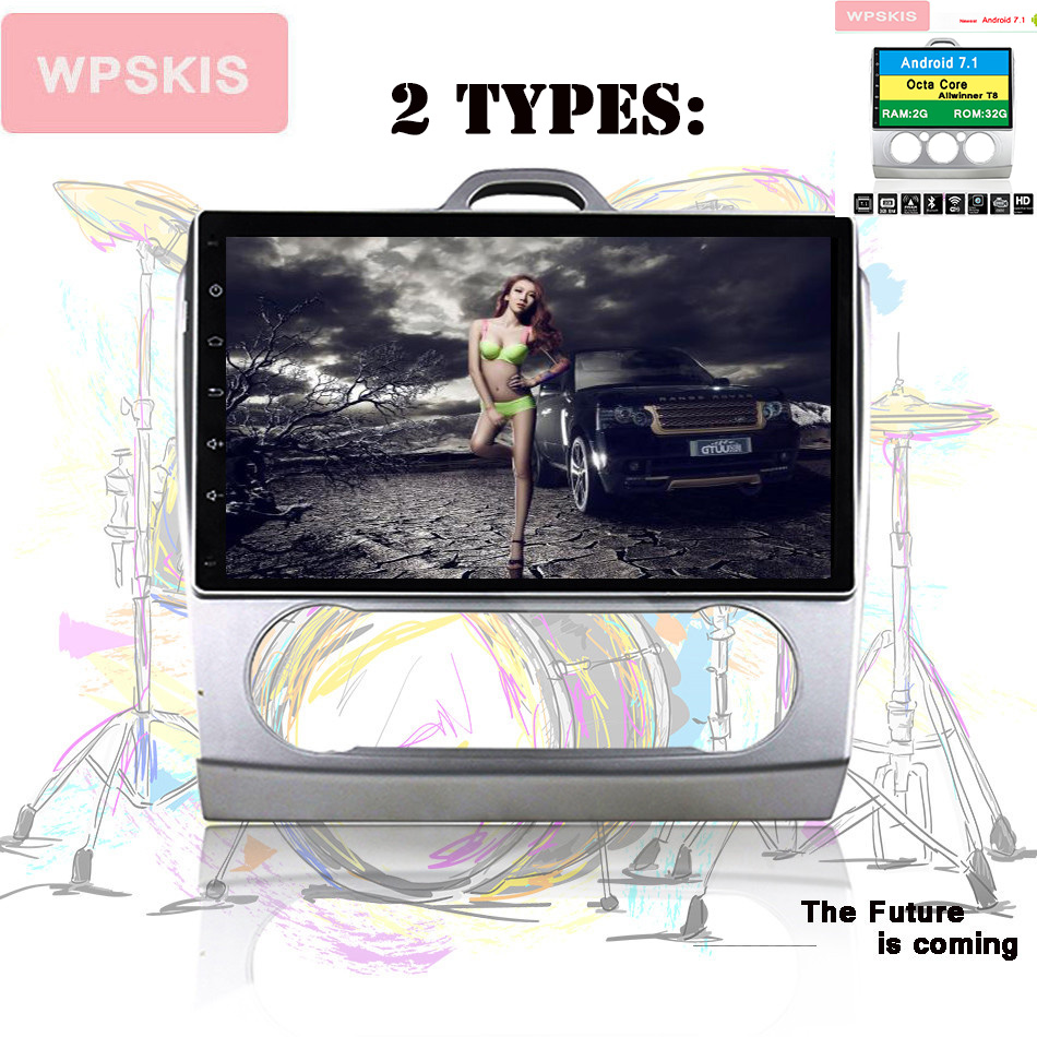 Android 9 0 Two Din 9 Inch Car DVD Player For Ford 2 3 2006 2011